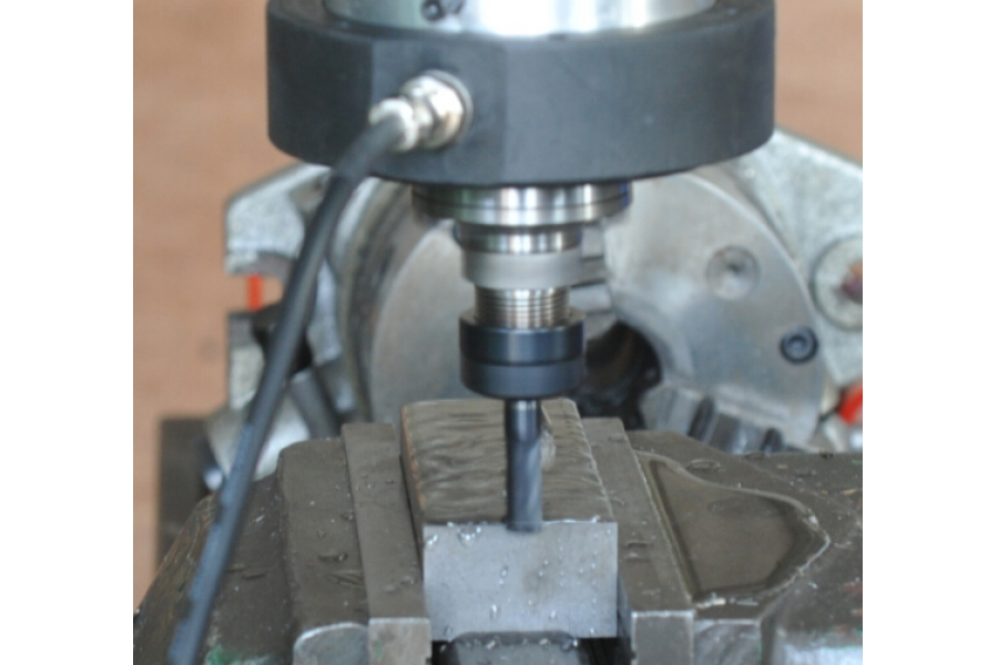 ultrasonic assisted milling machine