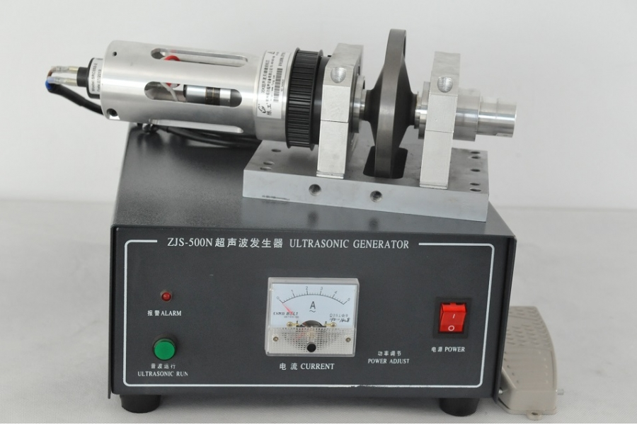 Ultrasonic Handle Rotating Sonotrode Sealing Machine