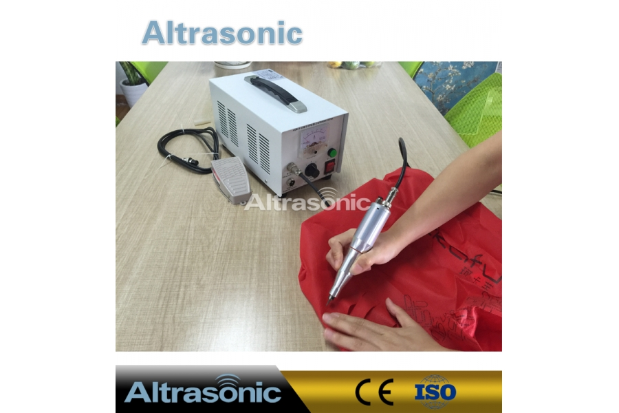 40Khz Portable Ultrasonic knife for 0.01~3mm cutting PC foils