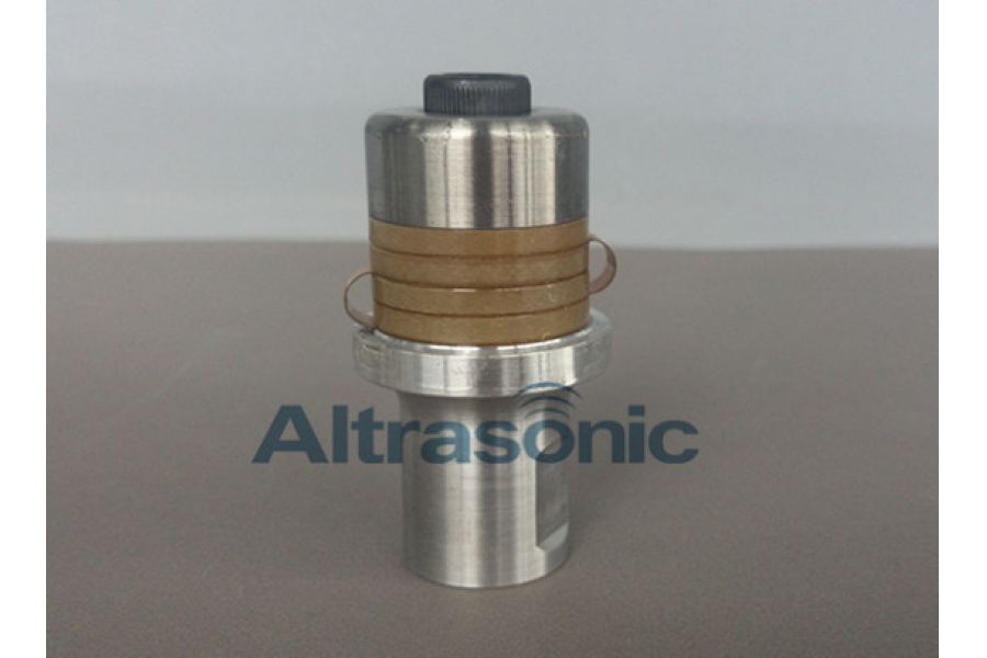 35KHz Ultrasonic Transducer High Power Density 6um Amplitude for Welding Machine with Excellent Performance