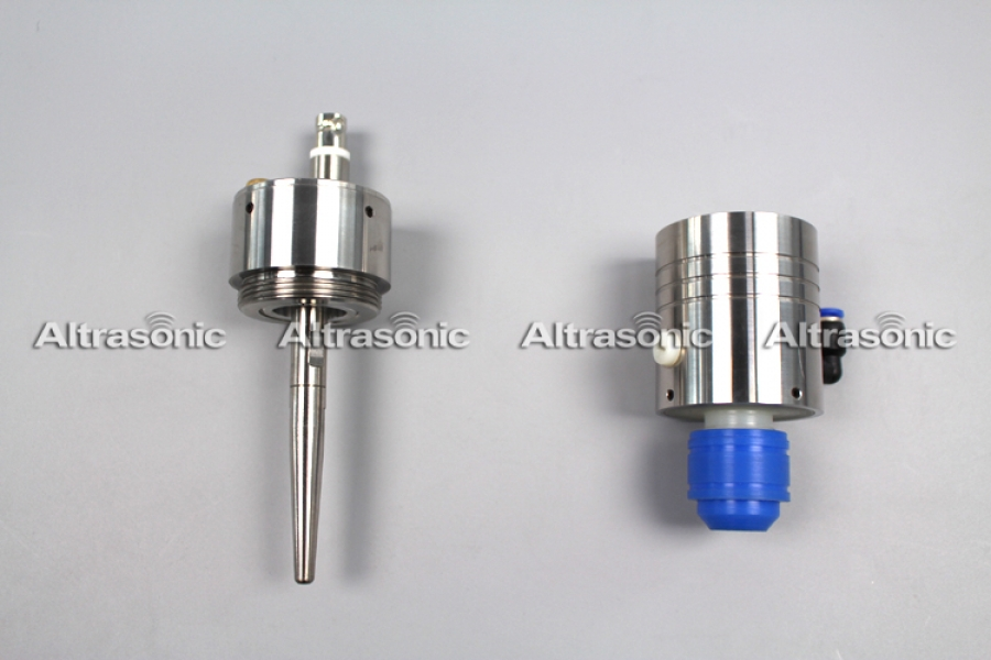 50Khz Long Nozzle Ultrasonic Atomizer for Circuit Board Precision Spray fluxing
