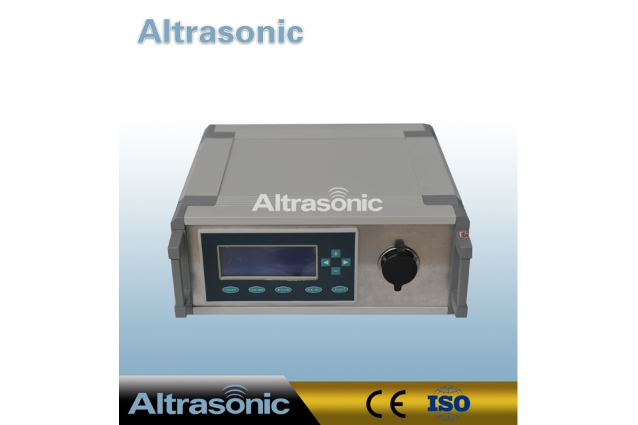 40khz Ultrasonic Cutter with 82mm Titanium Alloy Sonotrode For Rubber  Pipe and Hose Cutting Industry