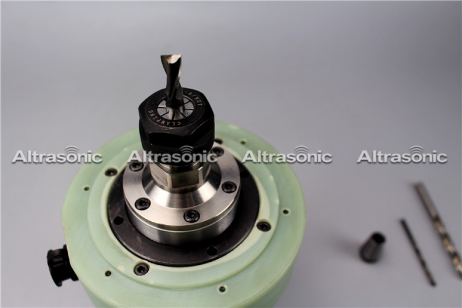 20khz Rotary Spindle Ultrasonic Machining Processing for CVD Silicon Carbide