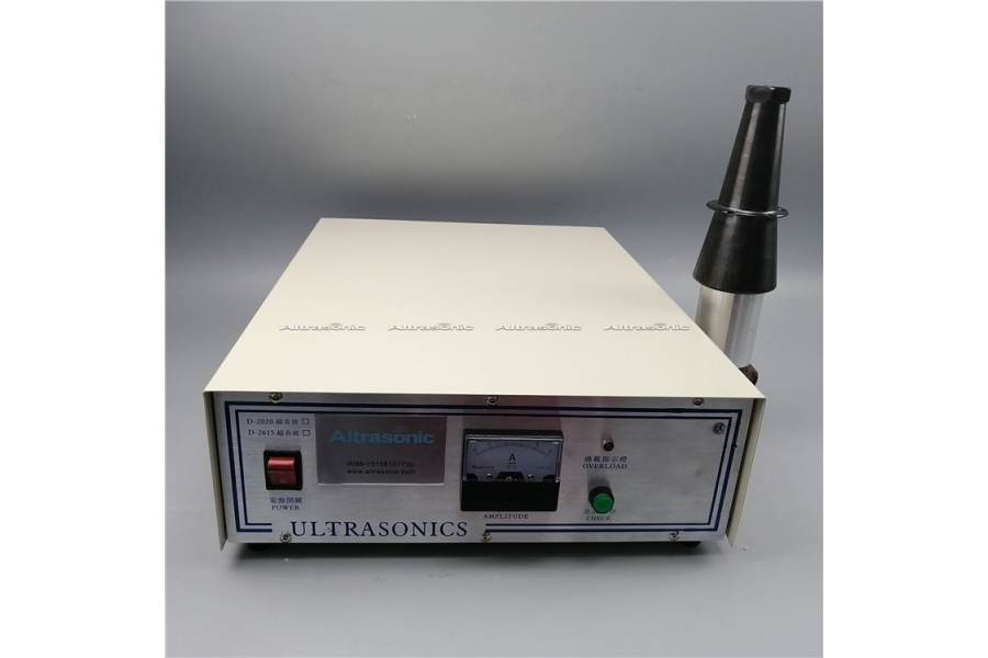 ultrasonic face mask welding machine